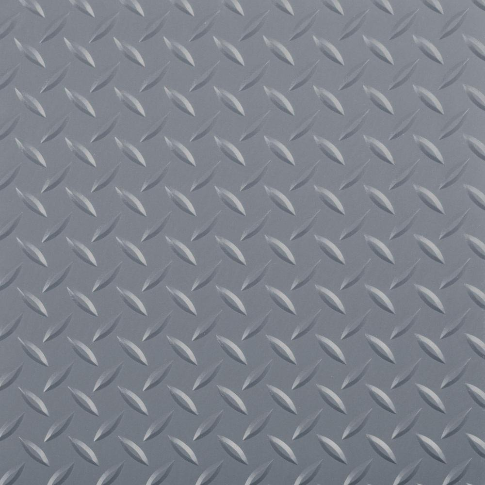 Diamond Tread 5 ft. x 10 ft. Slate Grey Commercial Grade