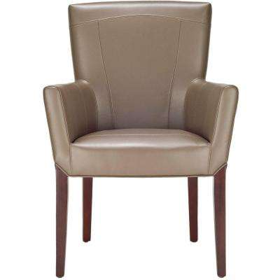 Ken Clay Leather Arm Chair
