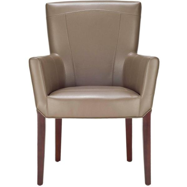 Safavieh Ken Clay Leather Arm Chair