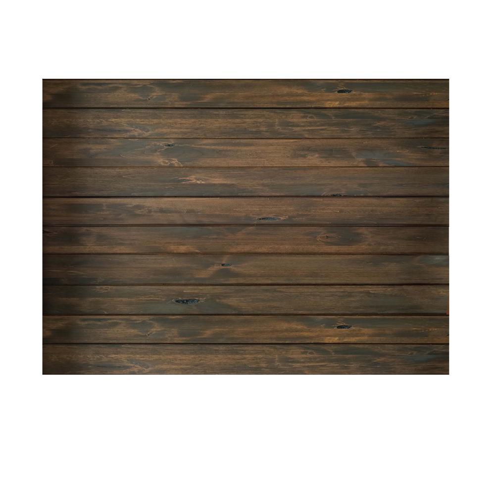 1 in. x 6 in. x 84 in. Espresso Knotty Alder Shiplap Barn Wood Board (10-Pack)