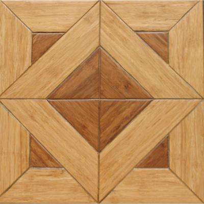 Versailles 9/16 in. Thick x 15.75 in. Width x 15.75 in. Length Engineered Parquet Hardwood Flooring (17.22 sq.ft./ case)