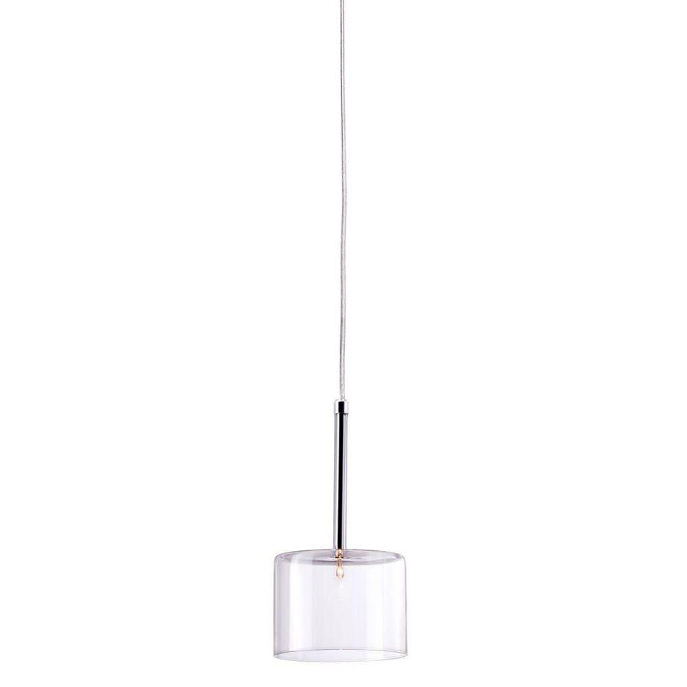 ZUO Storm 1-Light Clear Ceiling Lamp-50136