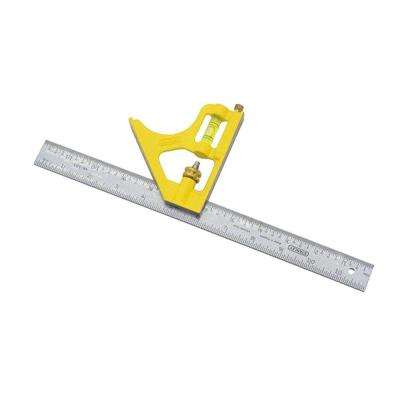 12 in. English/Metric Combination Square
