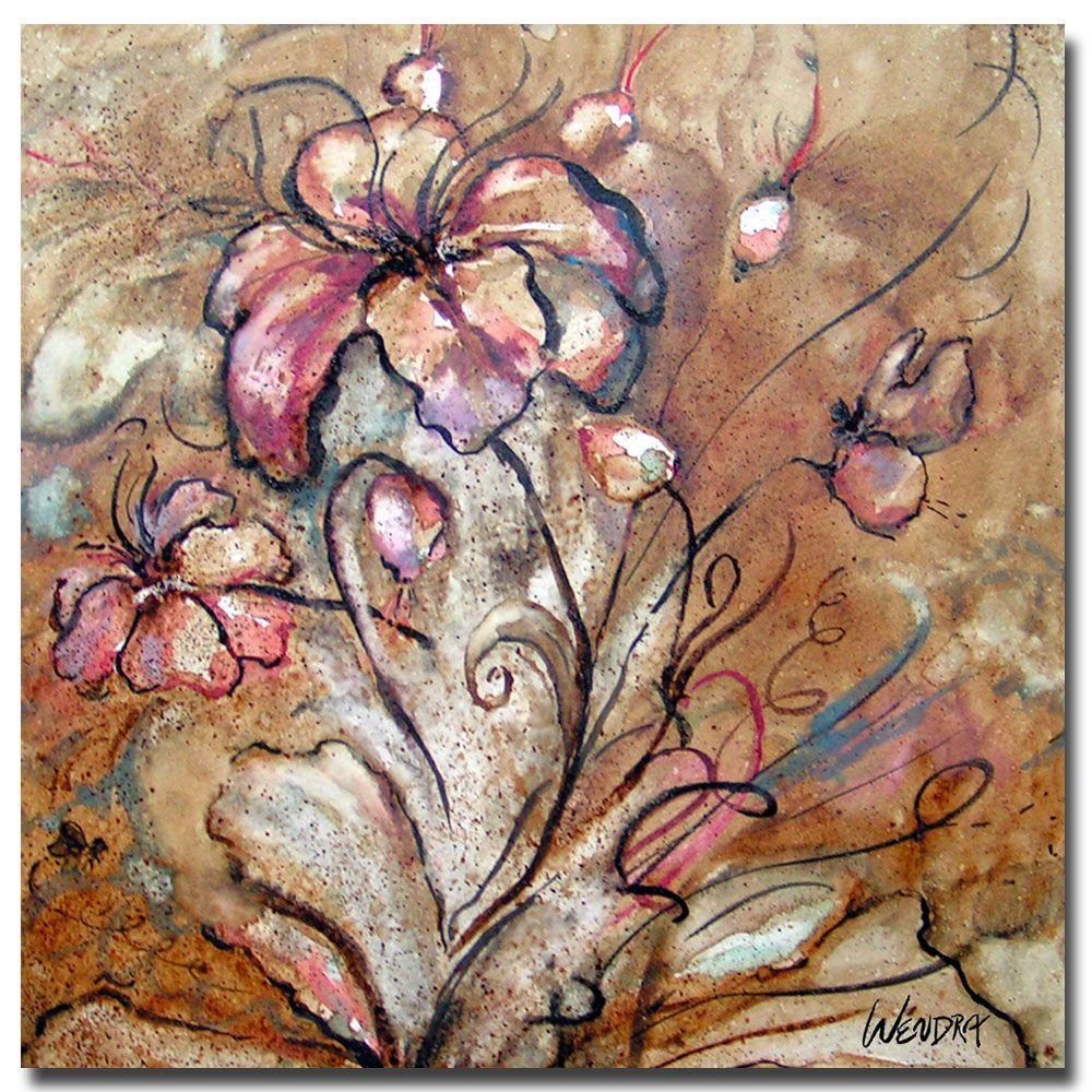 24 in. x 24 in. Anenomie Canvas Art