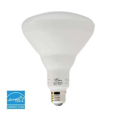 85W Equivalent Cool White (5000K) BR40 Dimmable MCOB LED Flood Light Bulb