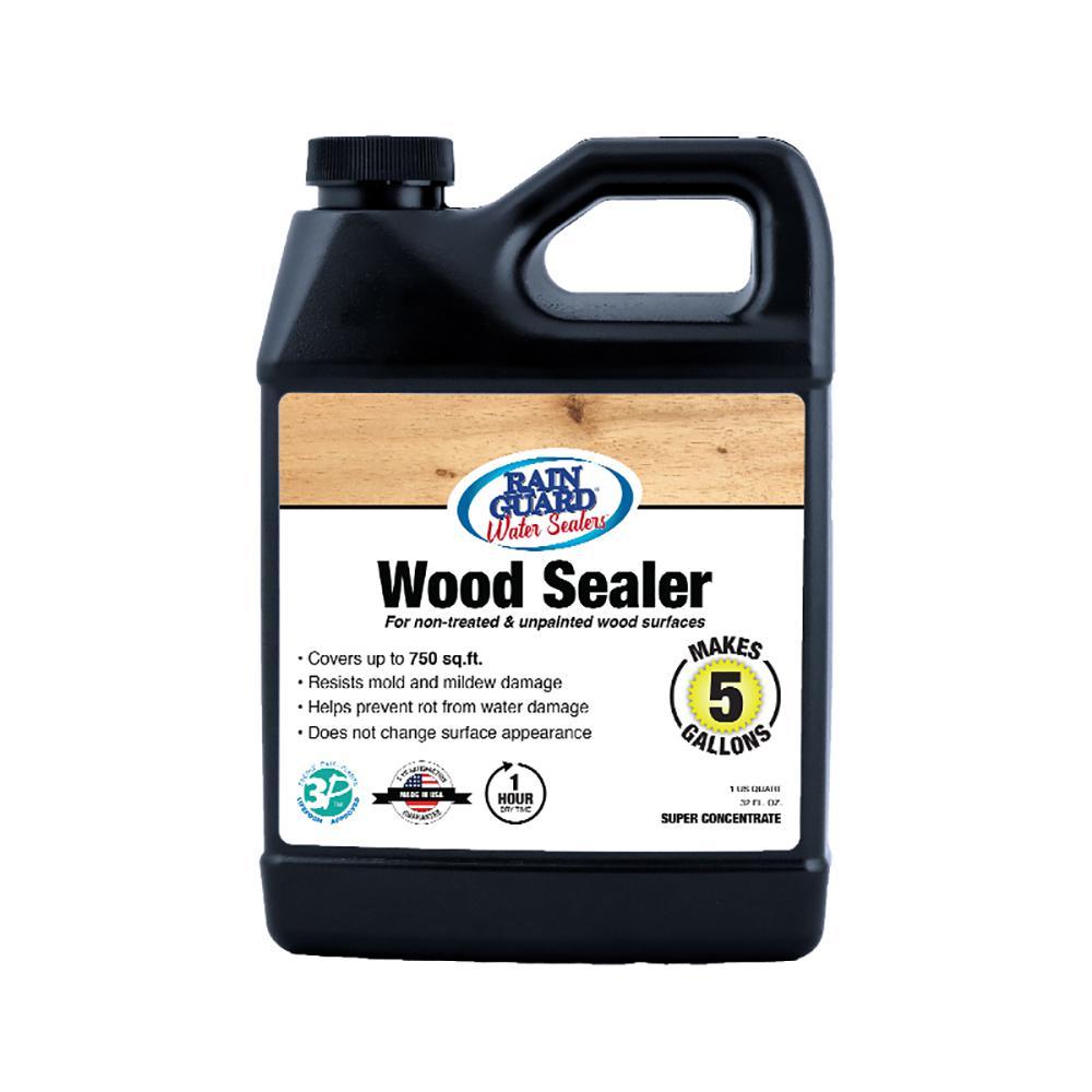 32 oz. Wood Sealer Super Concentrate Premium Waterproofer Sealer (Makes 5