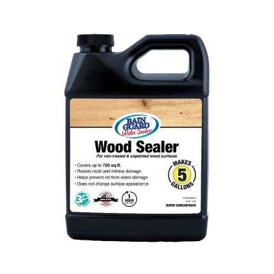 32 oz. Wood Sealer Super Concentrate Premium Waterproofer Sealer (Makes 5 gal.)