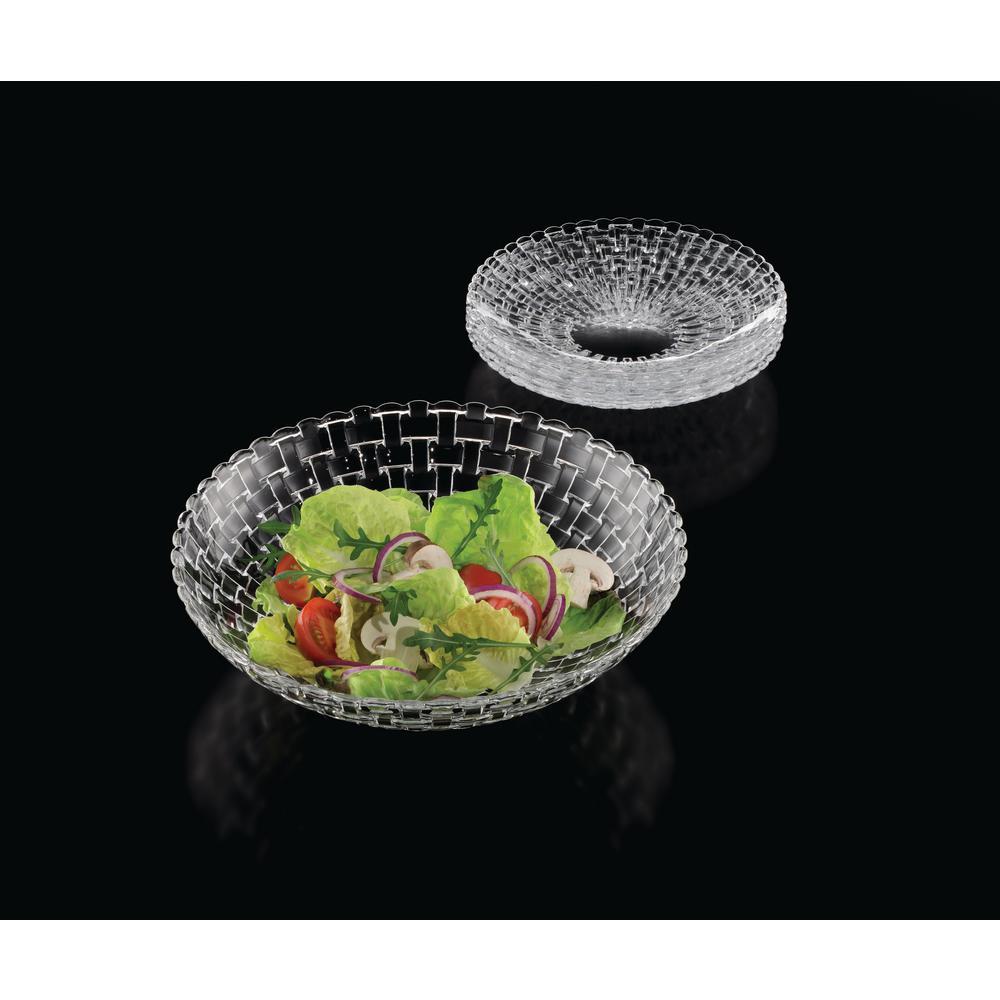 nachtmann bossa nova 5 piece salad set clear 98369 the home depot. Black Bedroom Furniture Sets. Home Design Ideas