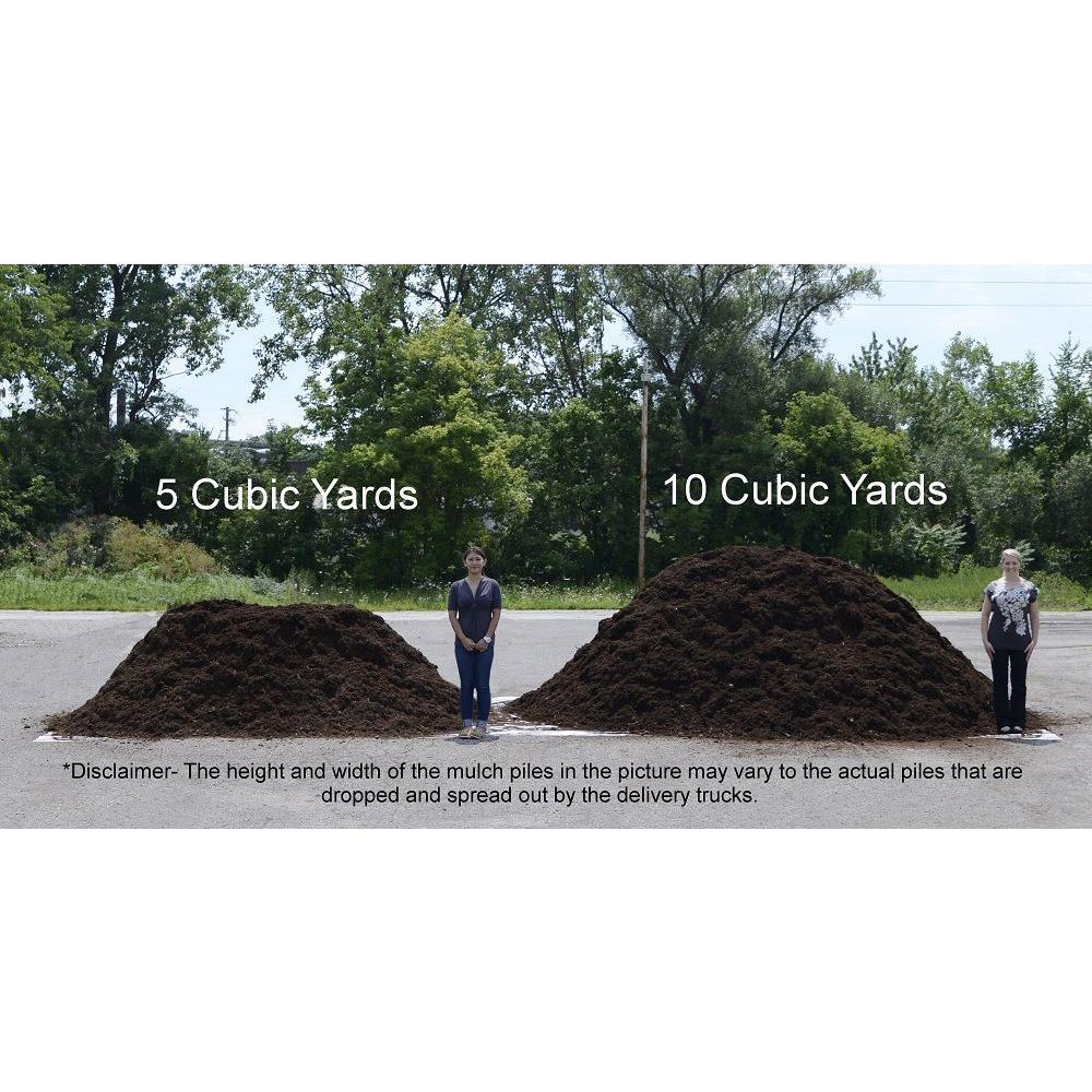 5 Cu Yd Black Landscape Bulk Mulch Bkdmb5 The Home Depot