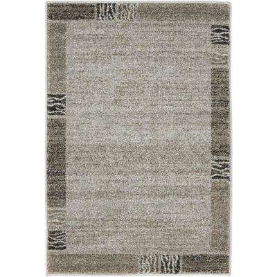 Del Mar Sarah Light Gray 2' 2 x 3' 0 Area Rug