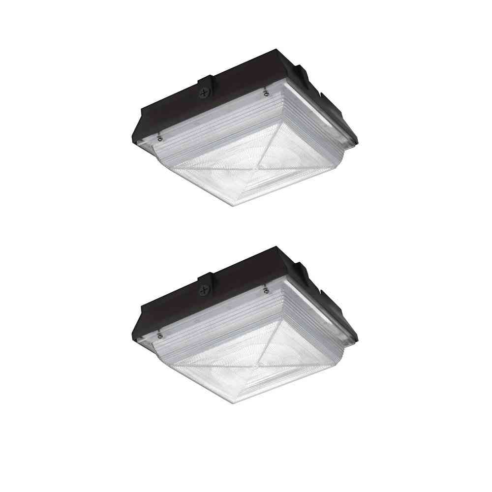 Commercial Electric 150-Watt Equivalent Integrated LED Canopy - Sale: $82.81 USD (30% off)