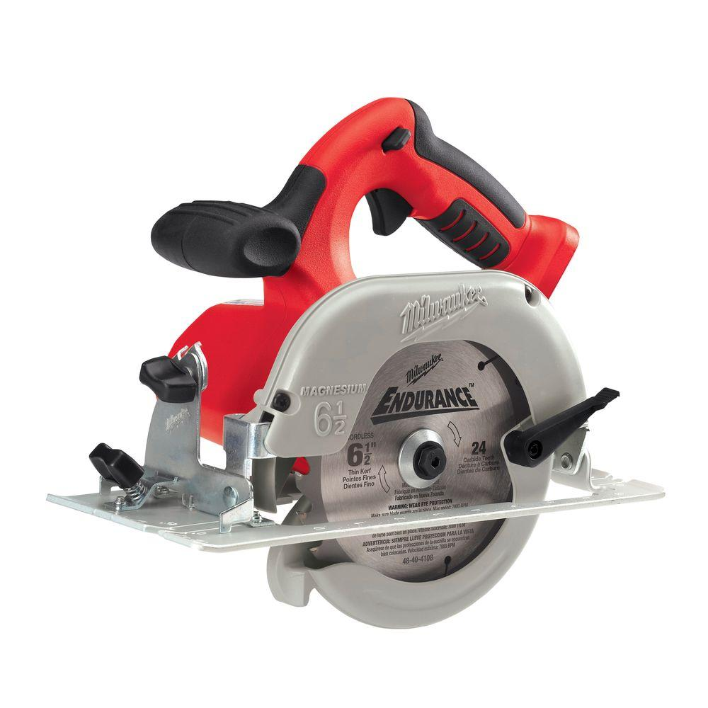 Milwaukee M28 28-Volt Lithium-Ion 6-1/2 in. Cordless Circular Saw (Tool-Only)