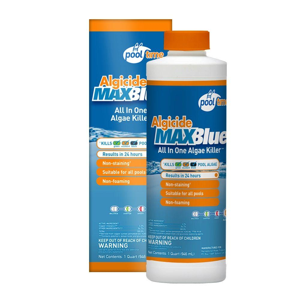 Pool Time MAXBlue 1 Qt. Algicide