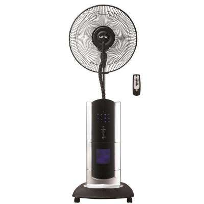 Oscillating Stand Fan with Cool Mist, Ionizer and Remote Control