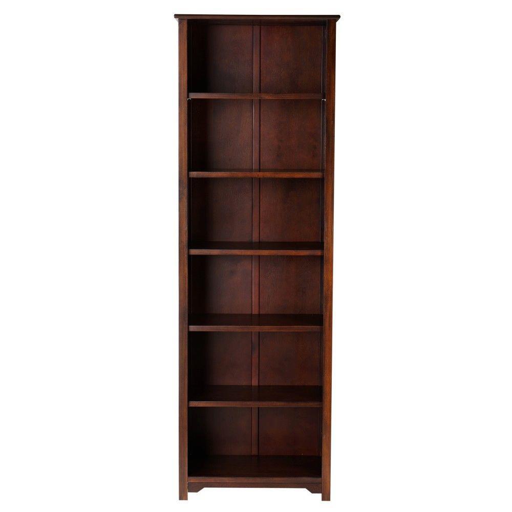 Oxford Chestnut Open Bookcase