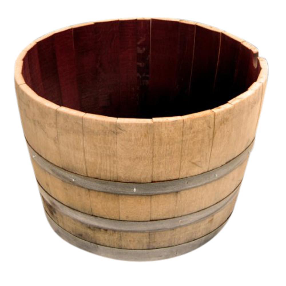 Master Garden Products Watertight 19 In H X 27 In W Half Oak Wine