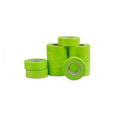 1 in. x 150 ft. Fluorescent Lime Flagging Tape (12-Pack)