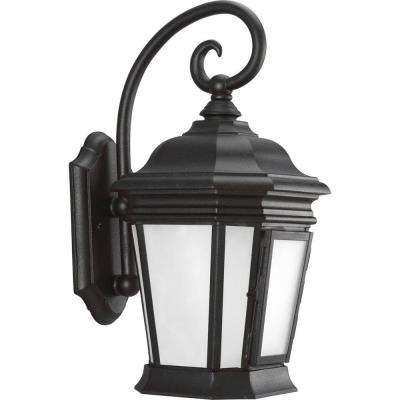 Crawford Collection Black Outdoor Wall Lantern