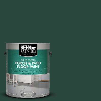 1 gal. #SC-114 Mountain Spruce Gloss Interior/Exterior Porch and Patio Floor Paint