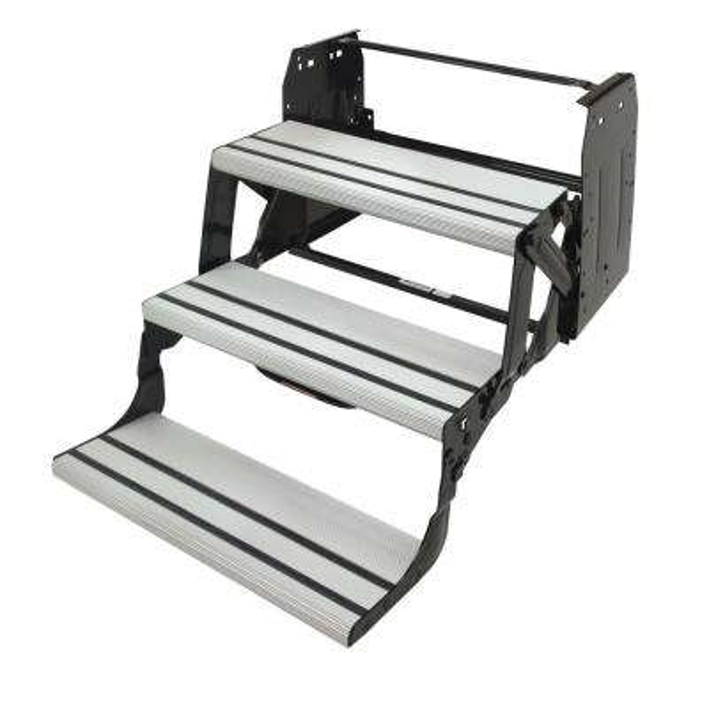 Aluminium Tread Manual Triple Steps