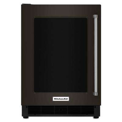 5.1 cu. ft. Undercounter Refrigerator in Black Stainless