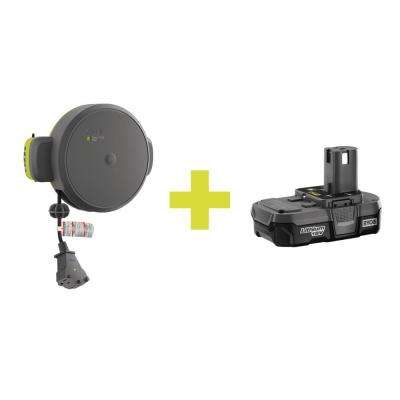 Cord Reel Accessory with Compact Lithium Battery