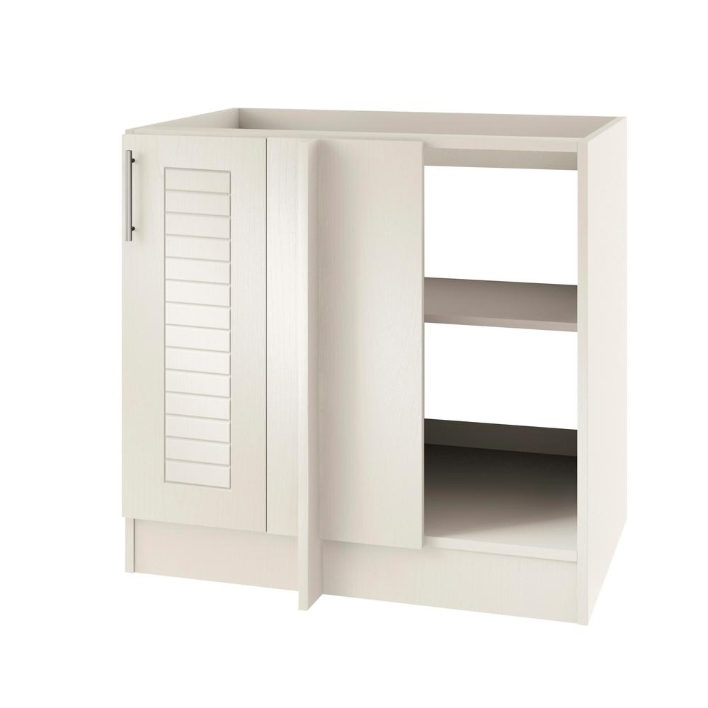 Open Cabinets: WeatherStrong Assembled 39x34.5x24 In. Key West Open Back