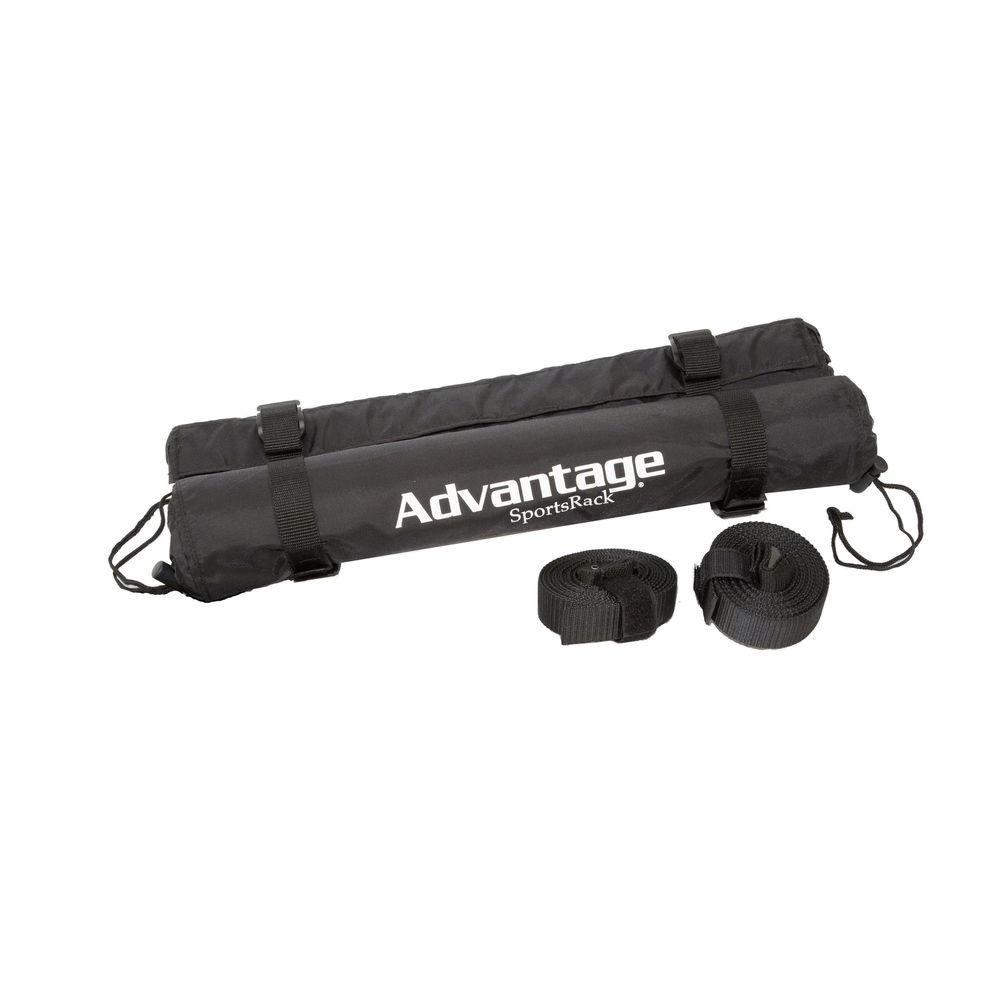 Advantage SportsRack 18 in. Roof Rack Cargo Cushions with Storage Bag