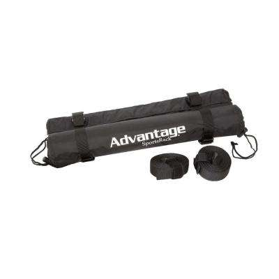 18 in. Roof Rack Cargo Cushions with Storage Bag