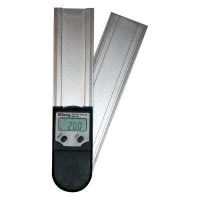 8 in. Digital Protractor Readout with Set Miter