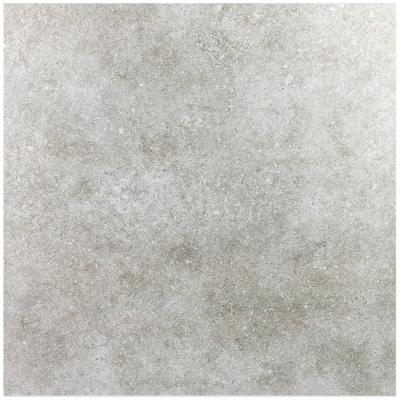 Essential Chalk Ash 24 in. x 24 in. 10mm Matte Porcelain Floor and Wall Tile (4 pieces / 15.49 sq. ft. / box)