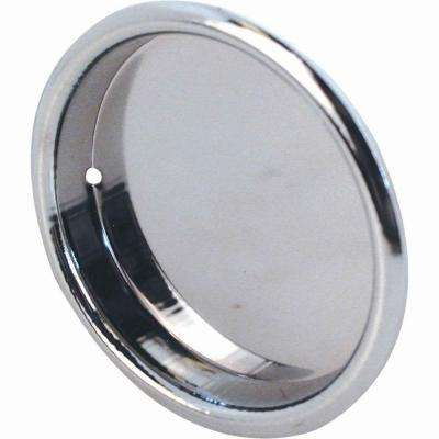 2 in. Chrome Sliding Wardrobe Door Pulls (2-Pack)
