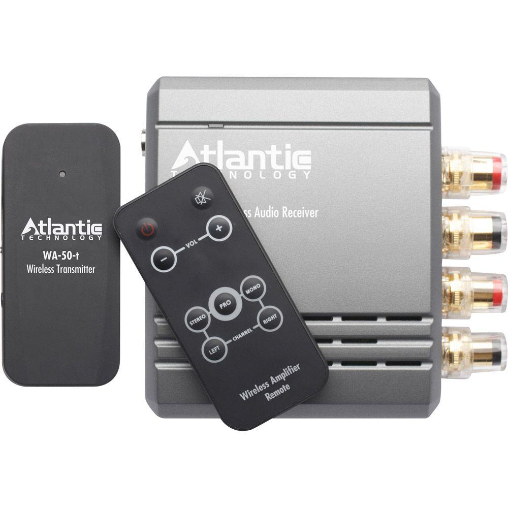 Atlantic Technology Wireless Transmitter/Amplifier System-DISCONTINUED
