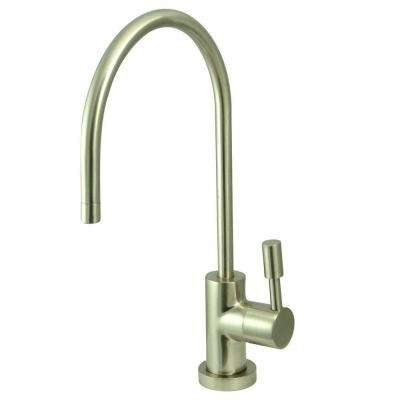 Replacement Drinking Water Single-Handle Beverage Faucet in Satin Nickel for Filtration Systems