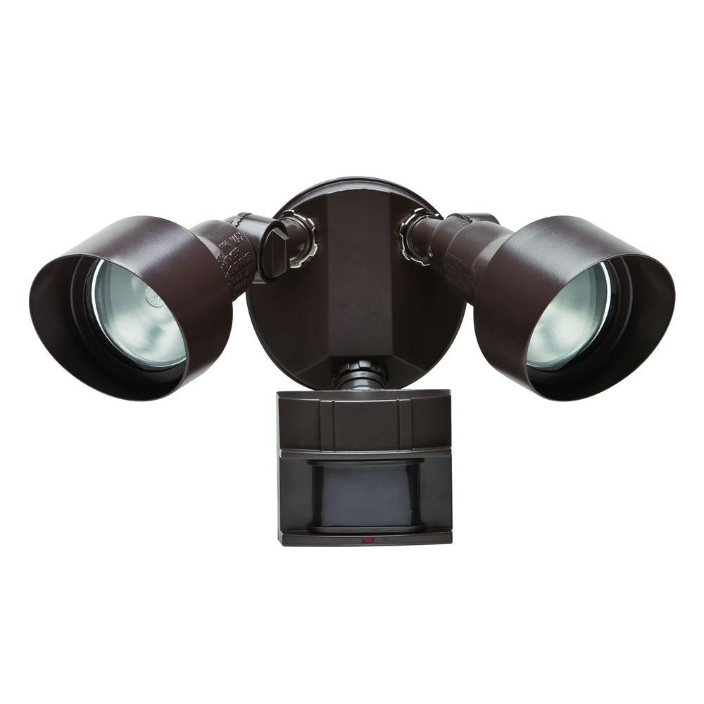Defiant 110-Degree Bronze Motion Outdoor Security Light-DF-5596-BZ-A - The  Home Depot f7379f2d8aa2