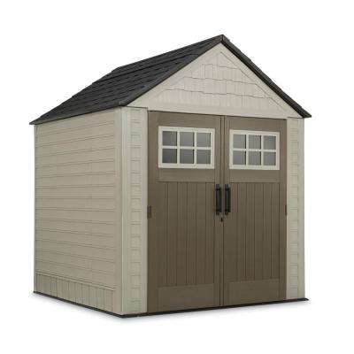 7 ft. x 7 ft. Big Max Storage Shed with Accessories