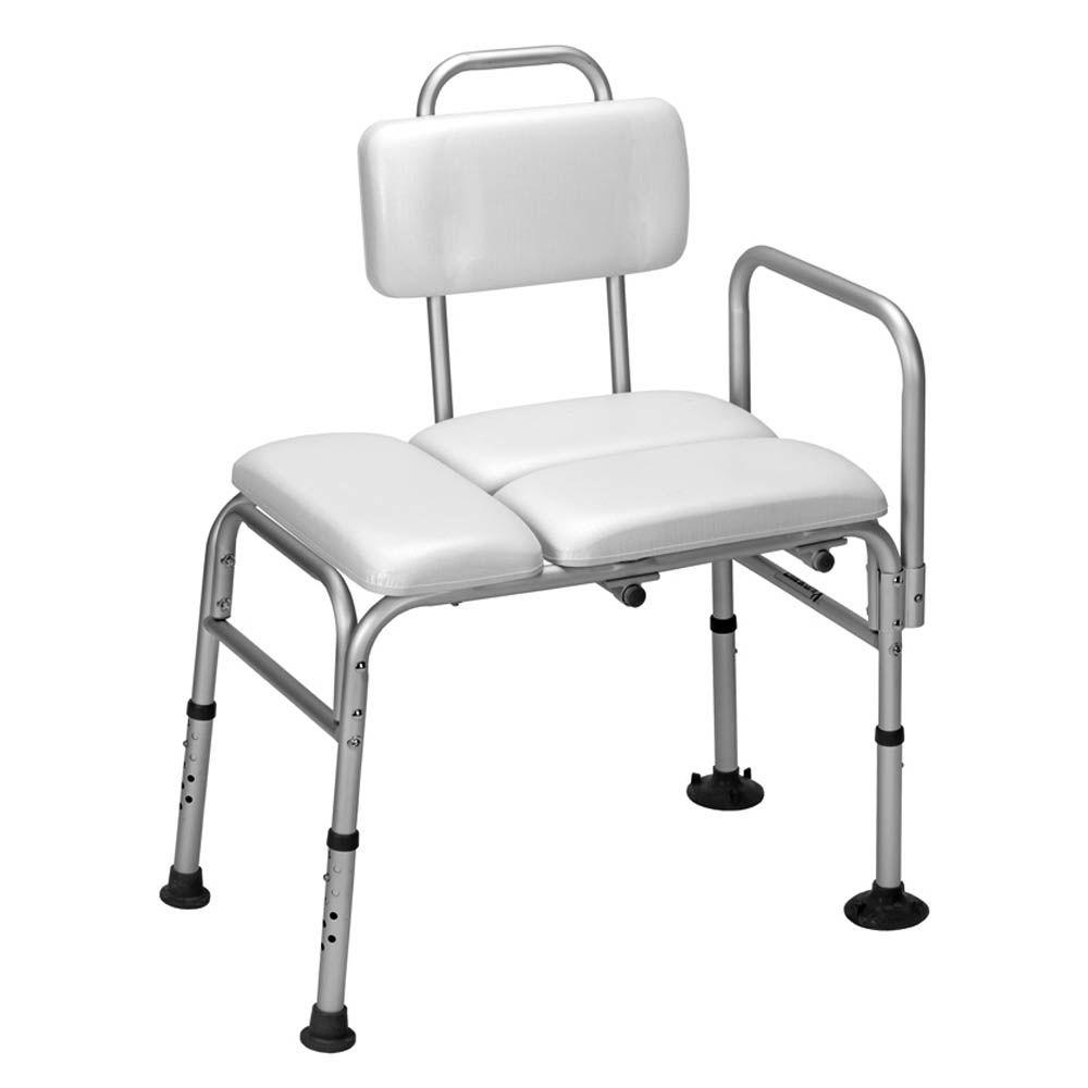 null Adjustable and Reversible Padded Transfer Bench-DISCONTINUED