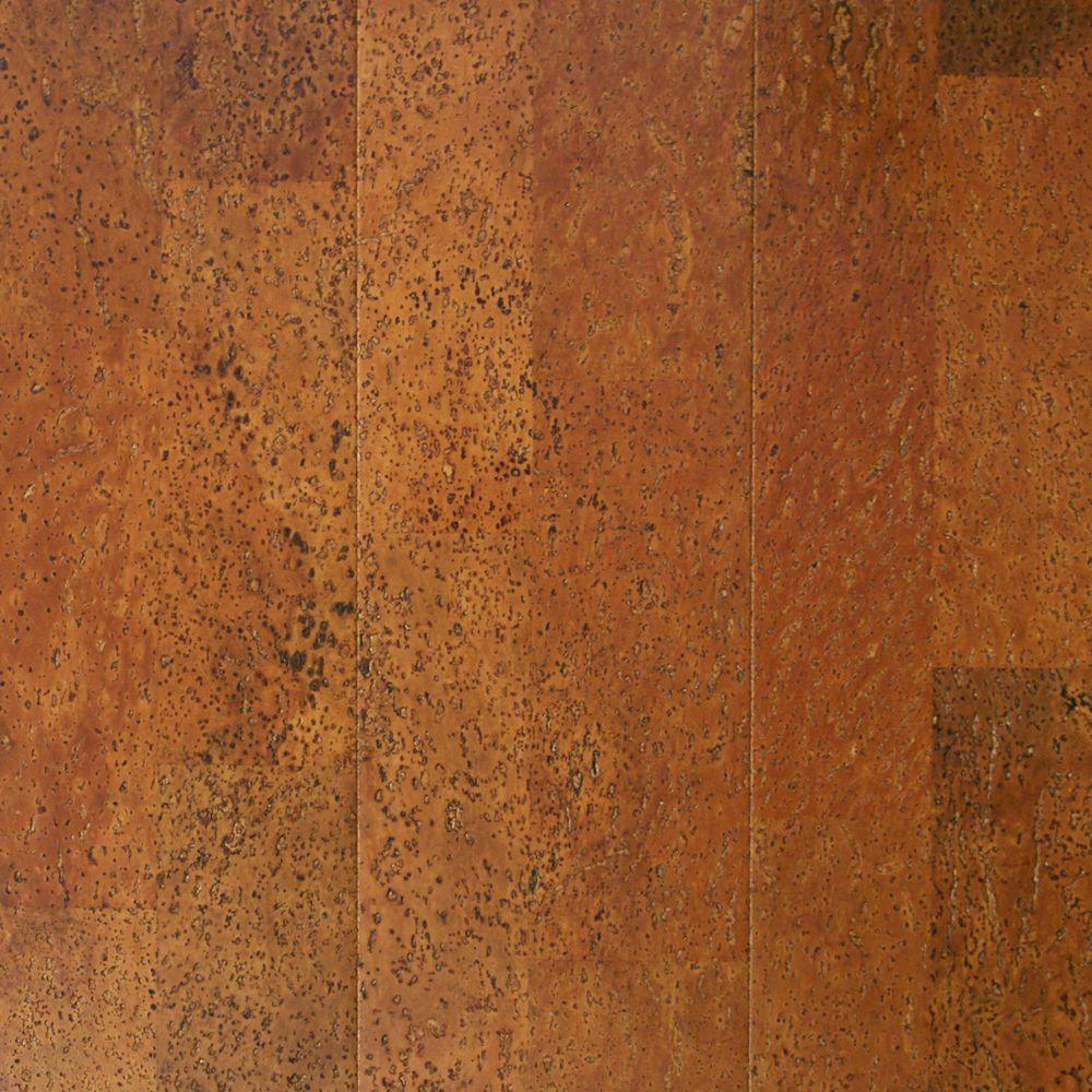 Heritage Mill Copper Plank 13/32 in. Thick x 5-1/2 in. Wide x 36 in. Length Cork Flooring (10.92 sq. ft. / case)