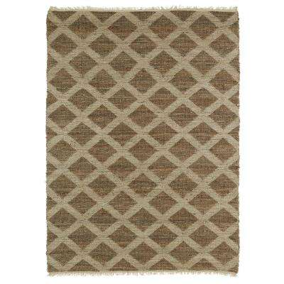 Kenwood Chocolate 8 ft. x 11 ft. Double Sided Area Rug