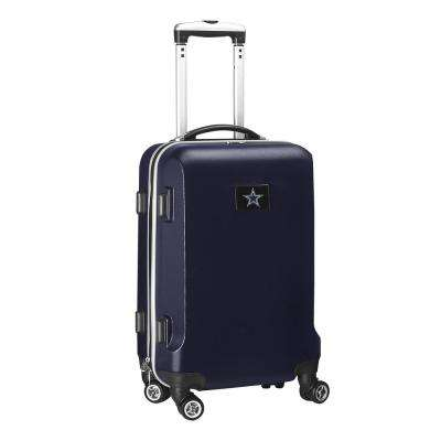 NFL Dallas Cowboys 21 in. Navy Carry-On Hardcase Spinner Suitcase