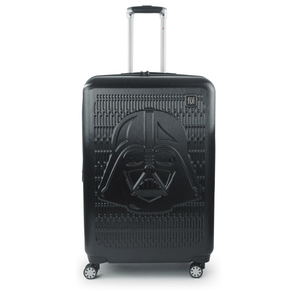 Darth Vader Embossed 29 in. Black Spinner Suitcase
