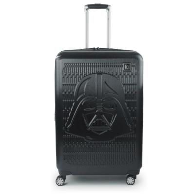 Darth Vader Embossed 29 in. Black Spinner Suitcase