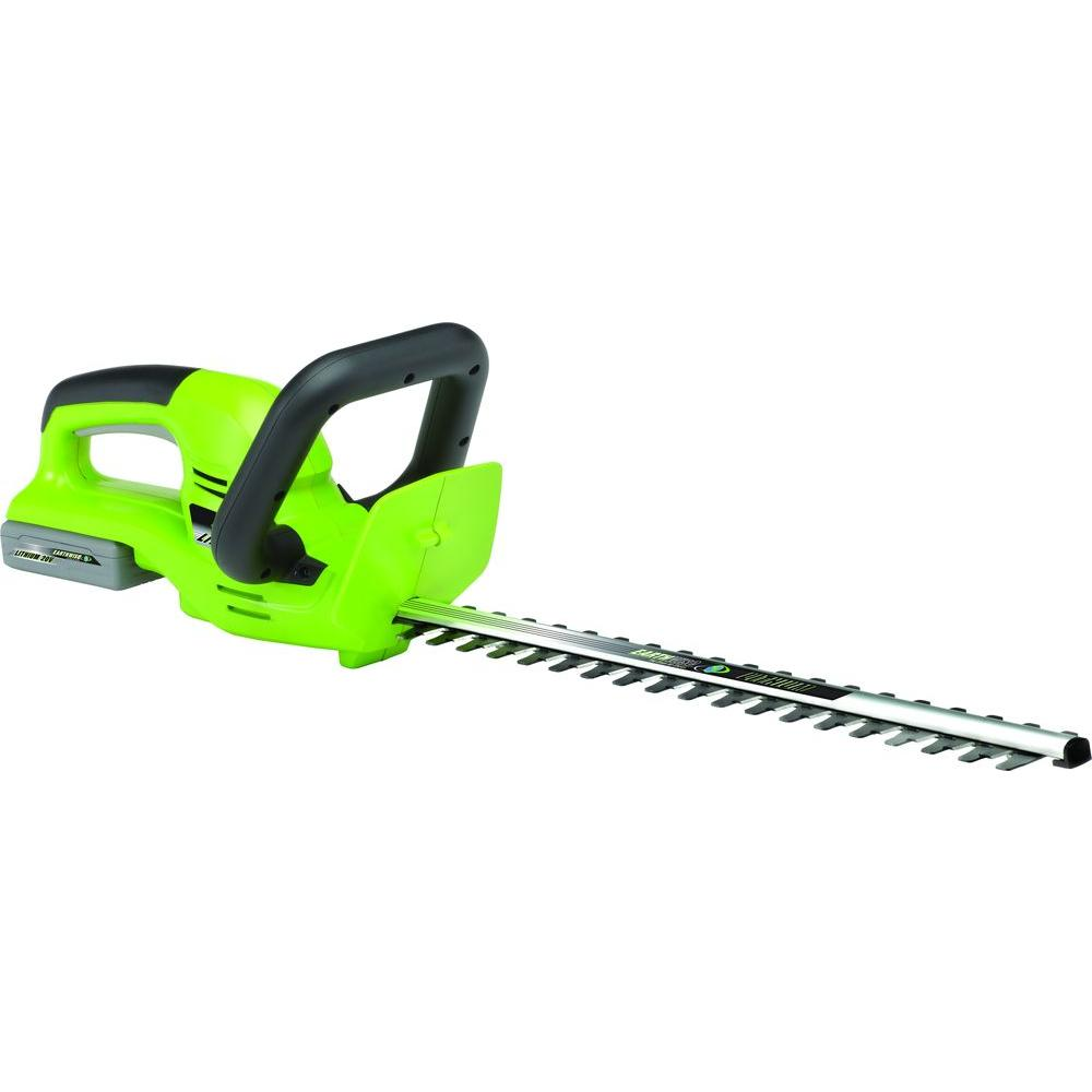 20 in. 20-Volt Lithium-Ion Cordless Electric Hedge Trimmer