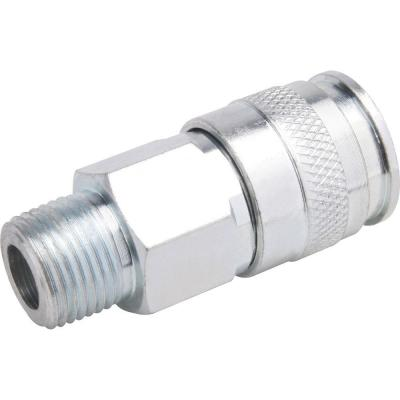 Zinc 1/4 in. x 1/4 in. Female to Male Universal Coupler