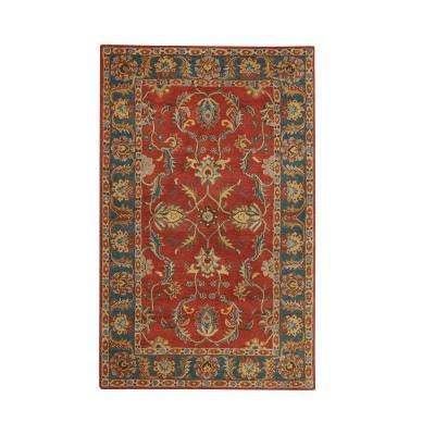Aristocrat Rust Red 2 ft. x 3 ft. Area Rug
