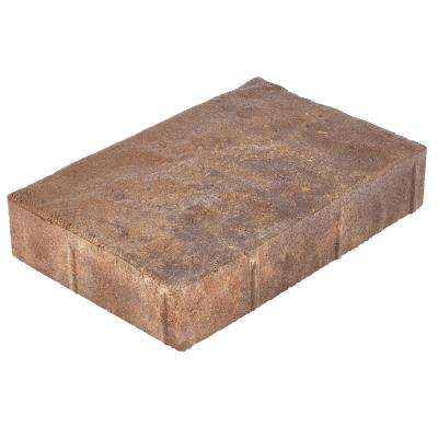 Valenda Large 11.75 in. x 7.75 in. x 2.25 in. Three Tone Brown Concrete Paver (160 Pcs. / 103 Sq. ft. / Pallet)