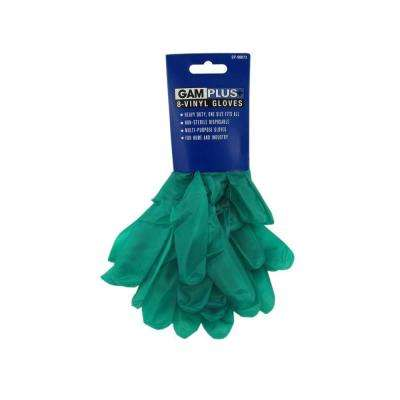 8-Count Vinyl Gloves