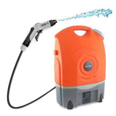 Pure Clean Outdoor Portable Spray Pressure Washer Cleaner System Built-In Rechargeable Battery