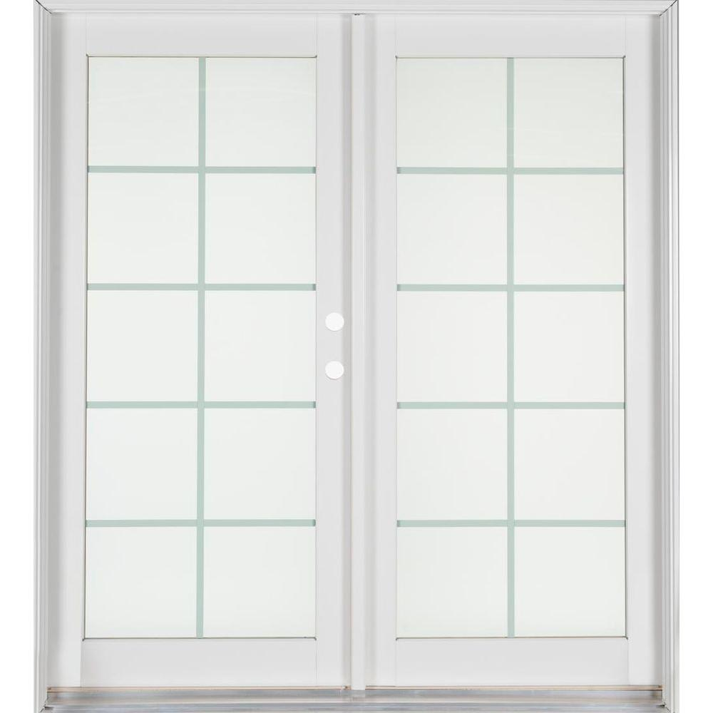 Home depot patio x 80 french patio door patio for Home depot prehung french doors