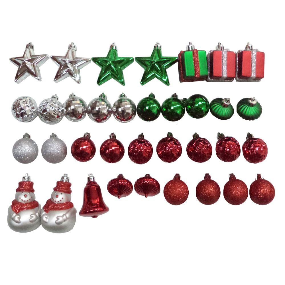 null mini ornament set (35-piece)